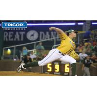 Madison Mallards Pitcher Justin Watts Delivers