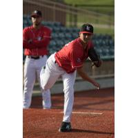 Lake Erie Crushers Pitcher Fernando Gallegos