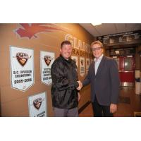 New Vancouver Giants Head Coach Jason McKee and General Manager Glen Hanlon
