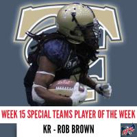 Tri-Cities Fever KR/RB Rob Brown