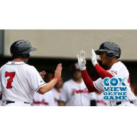 Pawtucket Red Sox Exchange High Fives