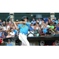 Jason Vosler of the Myrtle Beach Pelicans