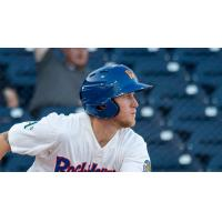 Midland RockHounds Center Fielder Brett Vertigan