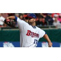 Buffalo Bisons Pitcher Scott Diamond