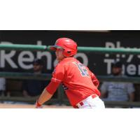 Scott Schebler of the Louisville Bats