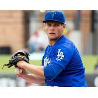 Tulsa Drillers Pitcher Trevor Oaks Prepares to Throw