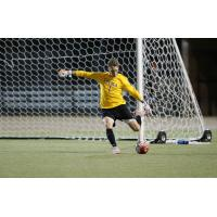Goalkeeper Tim Dobrowolski in Action with Loyola University Chicago