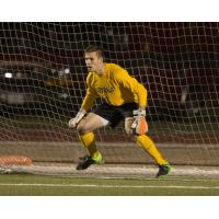 Goalkeeper Tim Dobrowolski with Loyola University Chicago