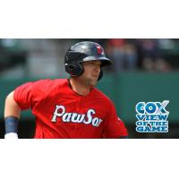 Bryce Brentz of the Pawtucket Red Sox