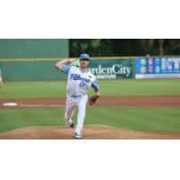 Myrtle Beach Pelicans Pitcher Jake Stinnett