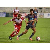 Carolina RailHawks Try to Hold off the New England Revolution