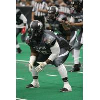 Duke City Gladiators OL Wondell Rutledge