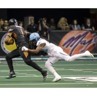 Rod Windsor of the Arizona Rattlers vs. the Philadelphia Soul