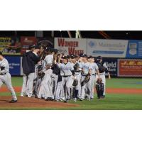 Staten Island Yankees Celebrate Opening Night Win