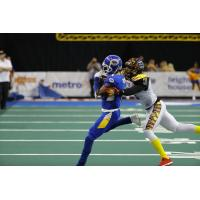Tampa Bay Storm WR T.T. Toliver's 1,165th Career Reception