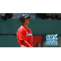 Justin Maxwell of the Pawtucket Red Sox