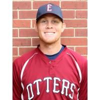Evansville Otters Pitcher Max Duval