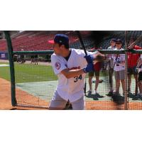 NHL Prospect Auston Matthews Taking Batting Practice with the Buffalo Bisons