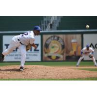 Rockland Boulders Pitcher Alex Gouin Delivers