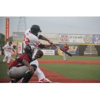 Andrew Godbold of the Florence Freedom at the Plate