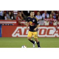 Defender Karl Ouimette with the New York Red Bulls