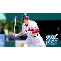 Brock Holt of the Pawtucket Red Sox