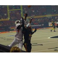 Arizona Rattlers Leap for a Ball vs. the LA KISS