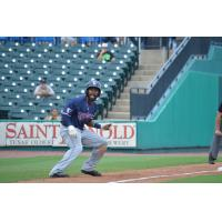 Mycal Jones of the Somerset Patriots