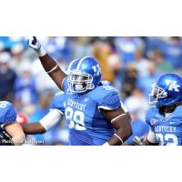 Spokane Empire Signee, DL Donte Rumph with the Kentucky Wildcats
