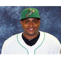 Audry Perez of the Norfolk Tides