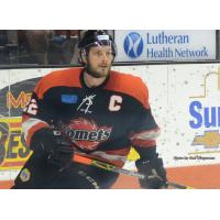 Fort Wayne Komets Center Jamie Schaafsma
