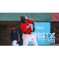 Rusney Castillo of the Pawtucket Red Sox