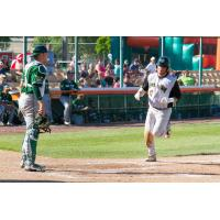 Green Bay Bullfrogs Catcher Colton Onstott Comes in to Score