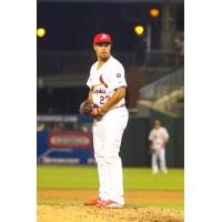 Memphis Redbirds Pitcher Sam Tuivailala on the Mound