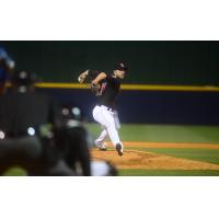 Nashville Sounds Pitcher Patrick Schuster Delivers