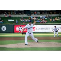 Round Rock Express Pitcher Michael Roth
