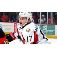 Max McCormick with the Binghamton Senators