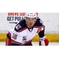 Chad Nehring with the Hartford Wolf Pack