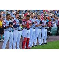 The Chiefs hosted Military Appreciation Night