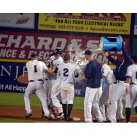 Lahair Hits Tying Homer and Then Walk off Single in 10th Inning to Lead to Patriots Victory