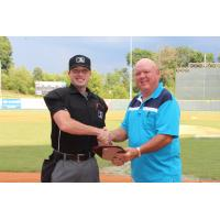 Matt Brown Named Dale Ford Umpire of the Year