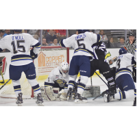 Stampede Top Storm in Shootout Thriller in Front of 9,014 Fans