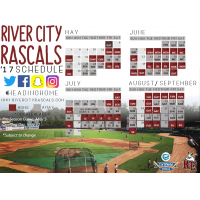Rascals Look Ahead to 2017 with the Official Release of Schedule