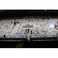 Painted Ice Ready for Storm's Game against Cedar Rapids