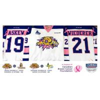 Pink in the Rink Jerseys Available in Online Auction this Year