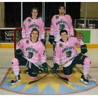 Musketeers Pink in the Rink