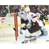 Rampage Hold on for 4-2 Win over Monsters