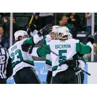 Stars Sweep Ontario with 2-1 Overtime Win