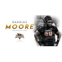 Force Fortify Offensive Line, Re-Sign Darrius Moore
