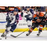 Komets Rally for a Point in Tulsa